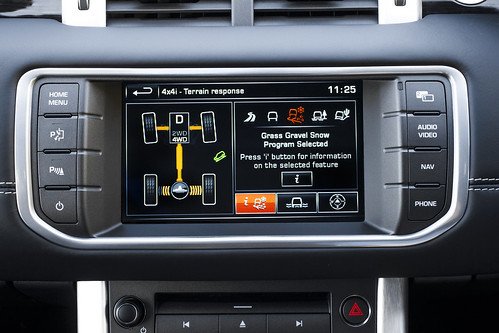 Multi Award- Winning Range Rover Evoque Leads The Way With In-Car Technology | by landrovermena