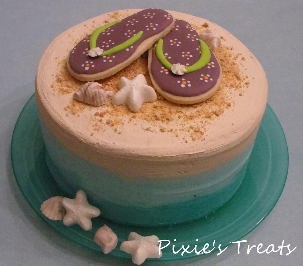 Outstanding Chocolate Birthday Cake With Buttercream Sugar Cookie Fli Flickr Funny Birthday Cards Online Drosicarndamsfinfo