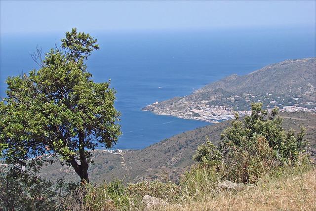 La baie de Llançà et le port de la Selva (Espagne)