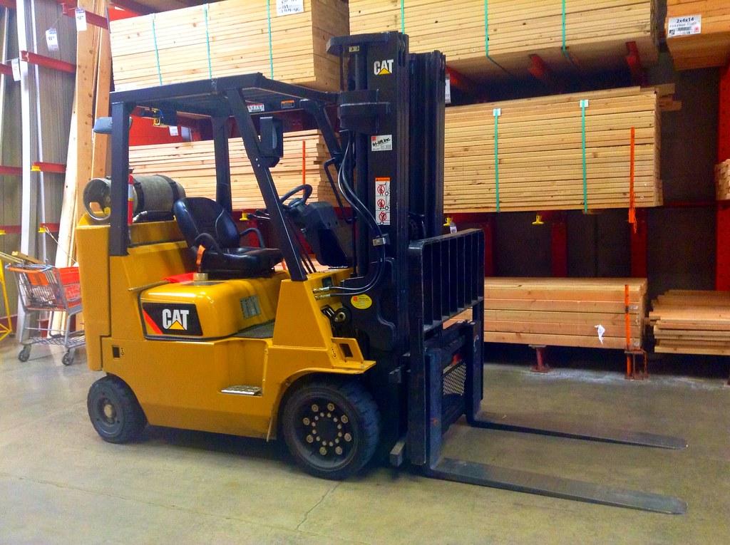 Caterpillar Forklift | Caterpillar Forklift, by Mike Mozart