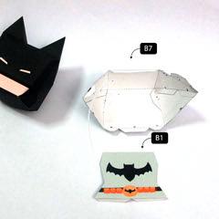 วิธีทำโมเดลกระดาษแบทแมน (Batman Papercraft Model) 010