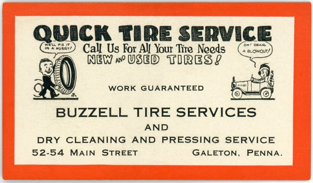 Buzzell Tire Services, Galeton, Pa.