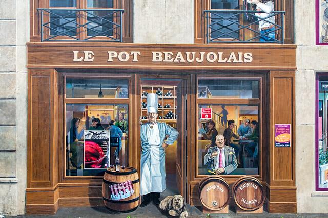 La Fresque des Lyonnais (Fresco of the People of Lyon)