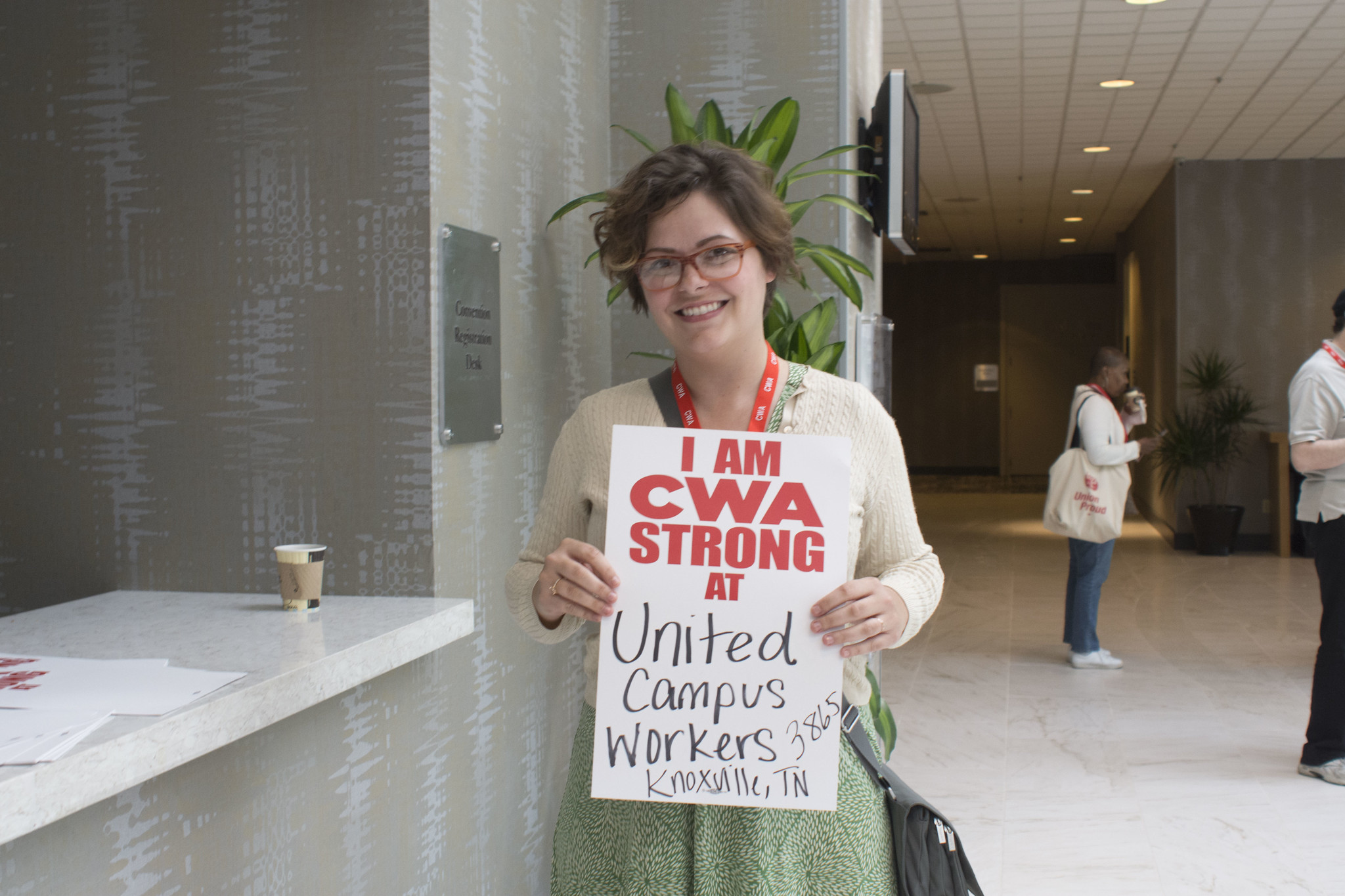 I am CWA STRONG