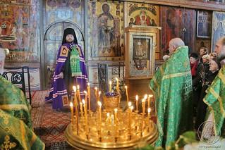 Литургия в Софийском соборе 490
