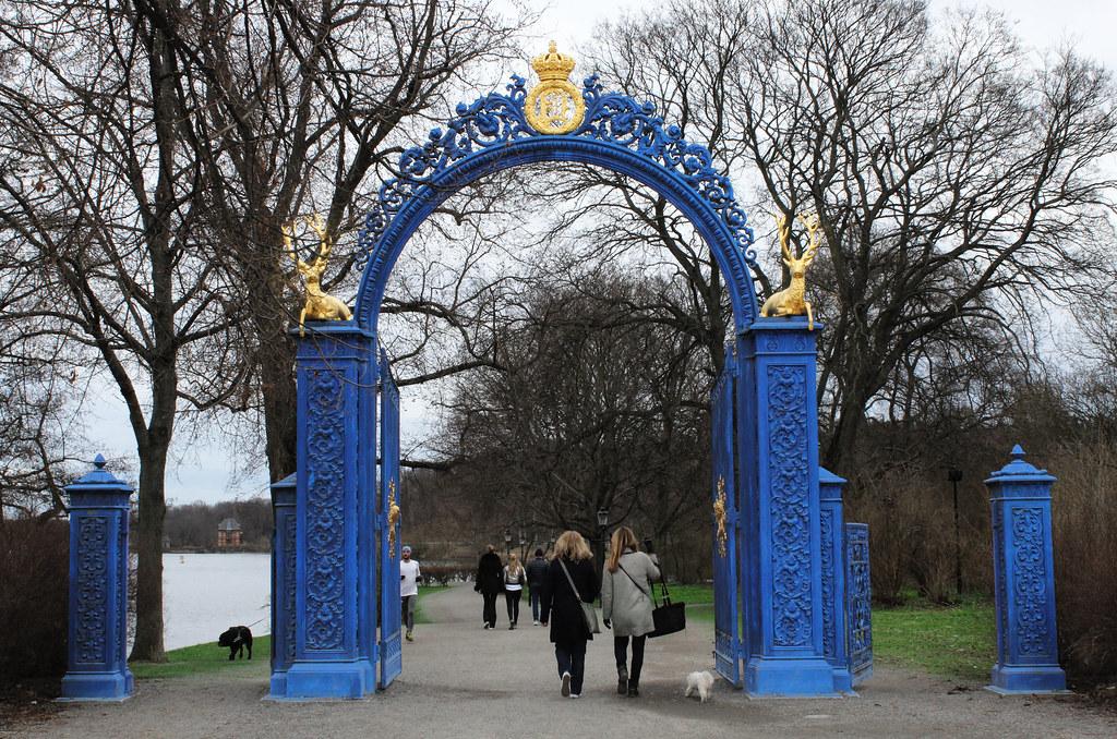 Djurgården's entrance