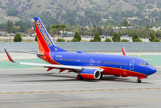 N937WN Southwest Airlines B737-700 (BUR)