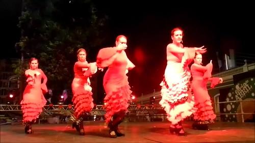 VII Feria Abril Las Palmas Estudio Flamenco Amparo Navarro video 04