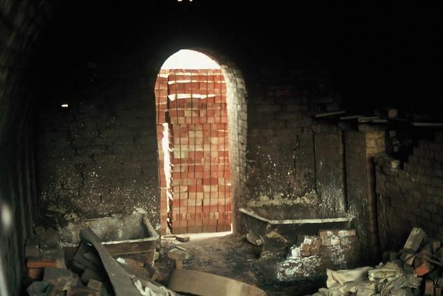 Inside Kiln Chamber, Crowle Brickworks