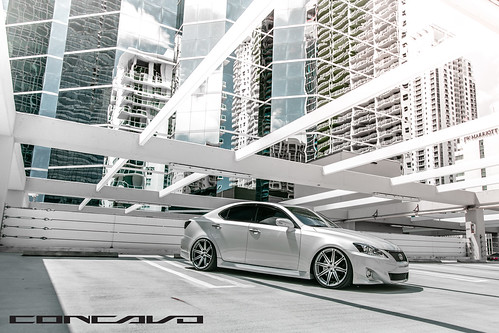 Lexus IS250 on CW-S8 MGMF | by Concavo Wheels