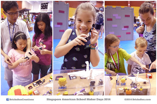 BricksBen - Showcase at Singapore American School Maker Days 2014 | by BricksBen LEGO® Creations