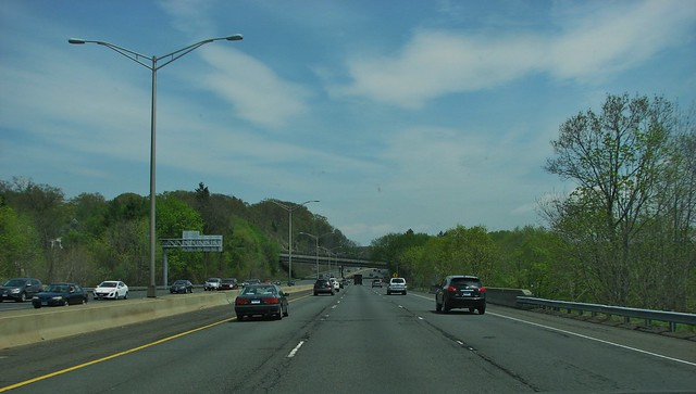 I-84 EAST IN DANBURY CONN MAY 2014