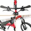 245-000-B-P-007 PARACYCLE 小傘兵前避震折疊單車20吋24速前碟亮紅色-6