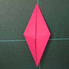 การพับกระดาษแบบโมดูล่าเป็นดาวสปาราซิส (Modular Origami Sparaxis Star) 008