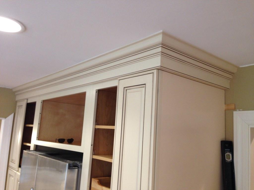 kitchen cabinet crown molding in Richmond Va (7) | The ...