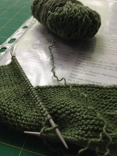 Garter stitch beginings | by bunnieprops