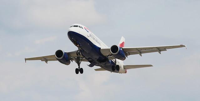 British Airways G-EUPT Taken Off 32 LBA