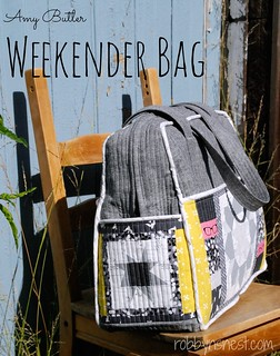 Amy Butler Weekender Bag | by Robbyn's Nest