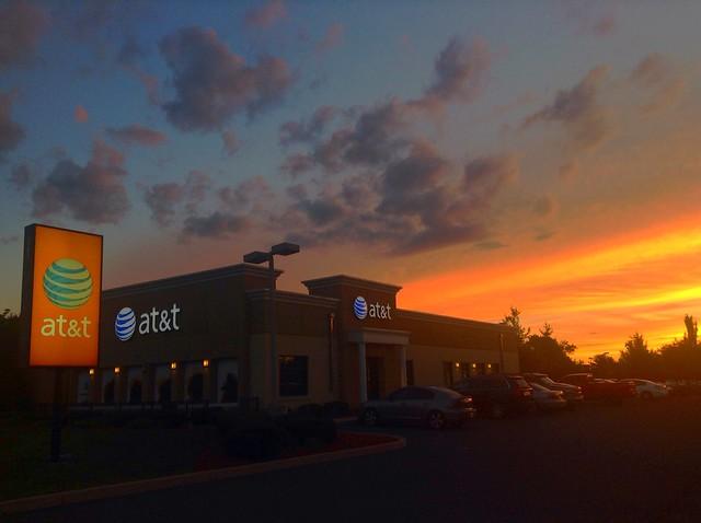 AT&T Sunset pics