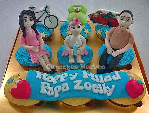 Cupcake Ulangtahun Untuk Suami Tercinta Birthday Cupcakes Flickr