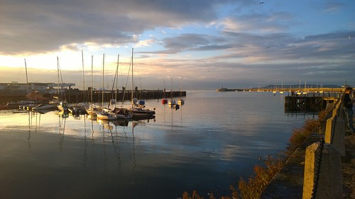 Evening in Dún Laoghaire. | by despod