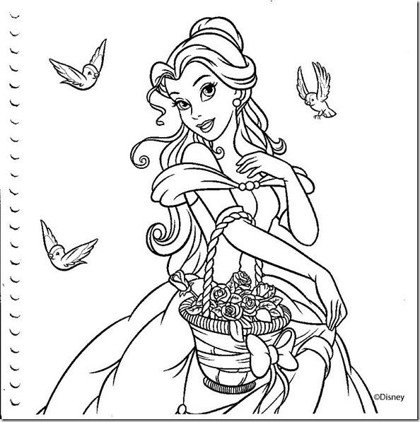 Desenhos Colorir Princesas Disney 010 Thumb 1 Desenhos Flickr