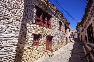 DSC06465 - Whitewashed Traditional Stones Houses on Main Street - Marpha Village - Himalayas (Nepal) | by loupiote (Old Skool) pro