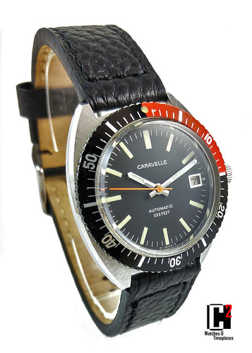 Vintage Bulova Caravelle Automatic Diver. Circa 1977 | by C Squared Watches and Timepieces