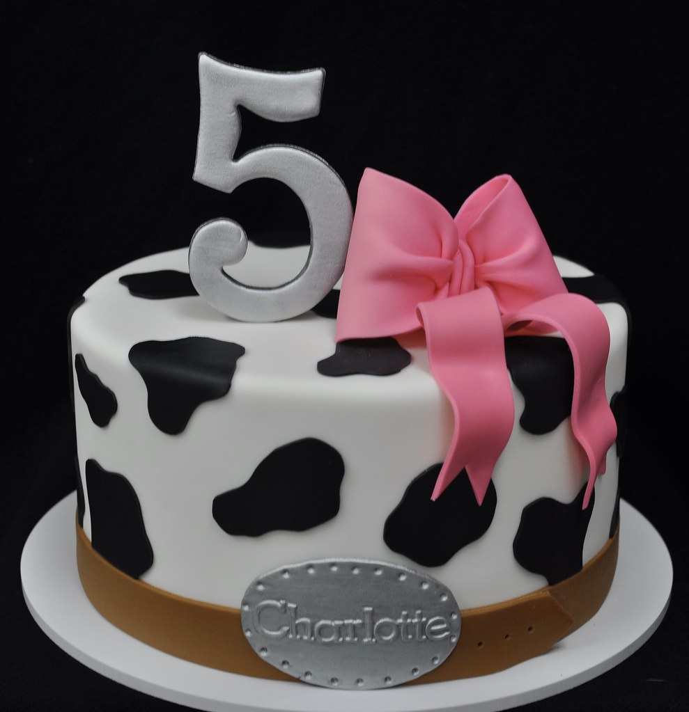 Remarkable Cowgirl Birthday Cake Jenny Wenny Flickr Personalised Birthday Cards Bromeletsinfo