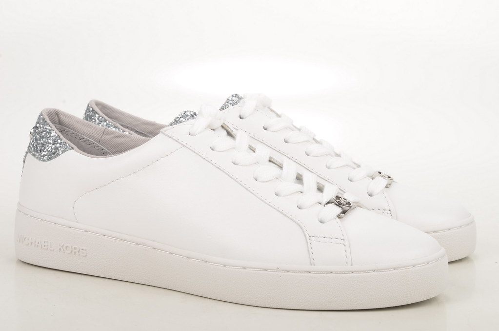Michael Kors Irving Lace Up Sneaker Kalbsleder weiß (white