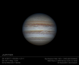 Jupiter 26. Mart 2017. | by Waskogm