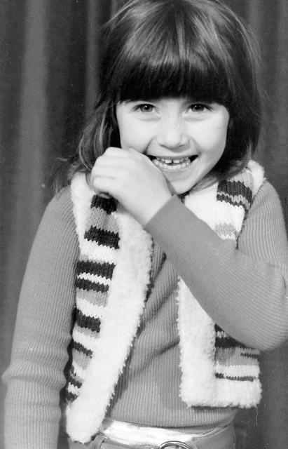 Little Scottish Girl In 70th Fashion - I shot film
