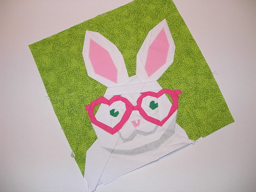 Rabbit by Quilt Art Designs