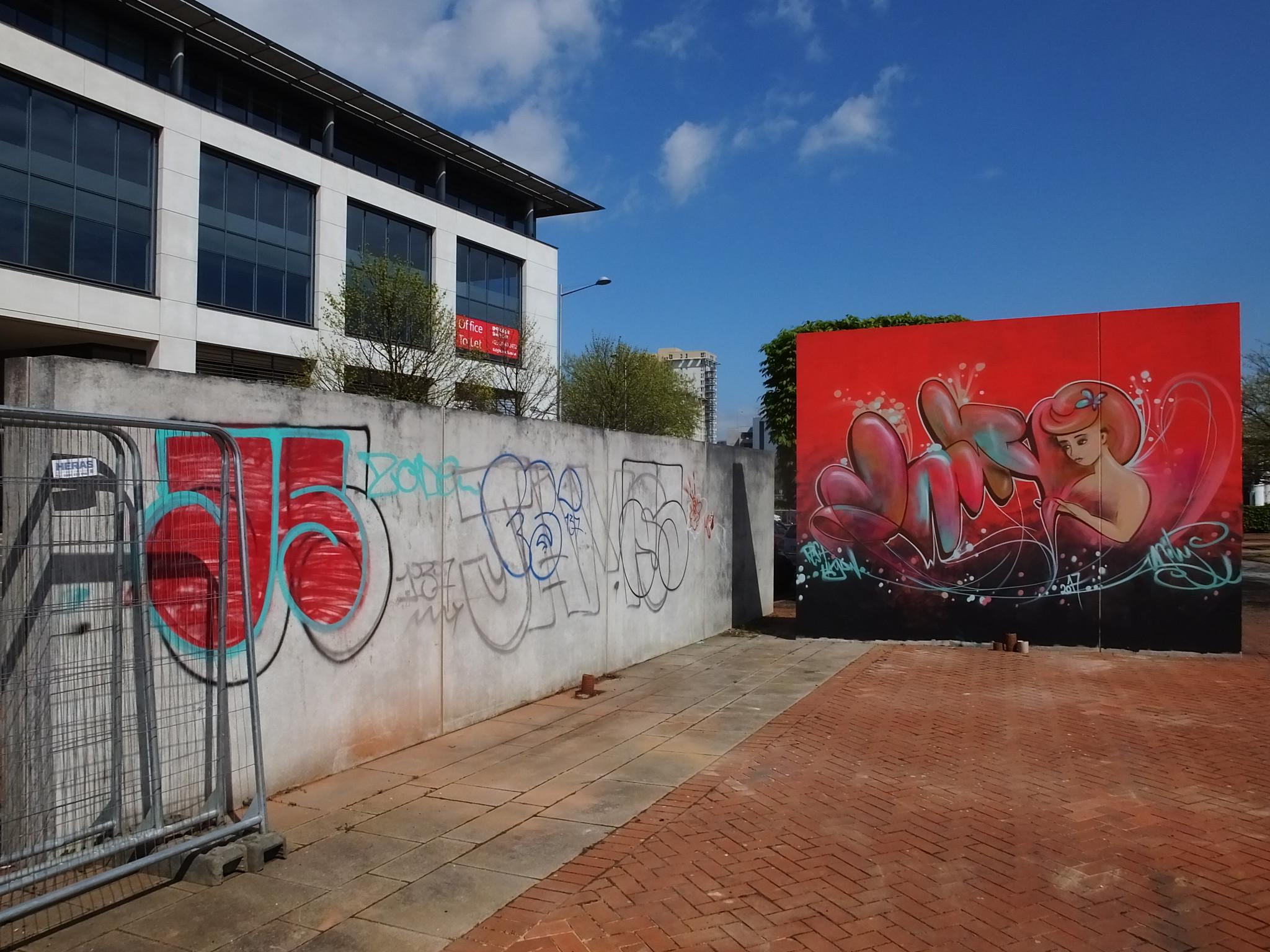 Street art Cardiff, Callaghan Square