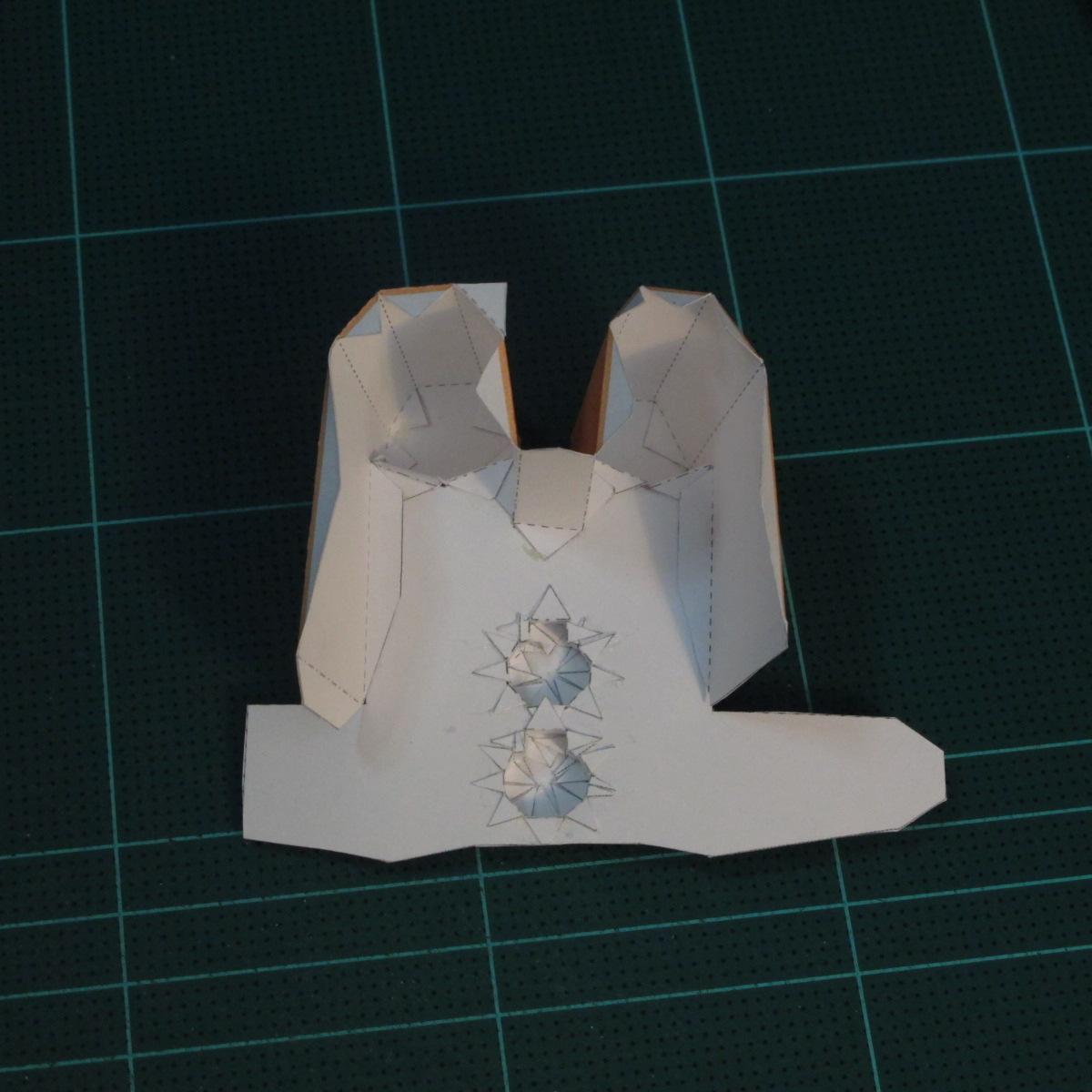 วิธีทำโมเดลกระดาษตุ้กตาคุกกี้รัน คุกกี้ผู้กล้าหาญ แบบที่ 2 (LINE Cookie Run Brave Cookie Papercraft Model Version 2) 011