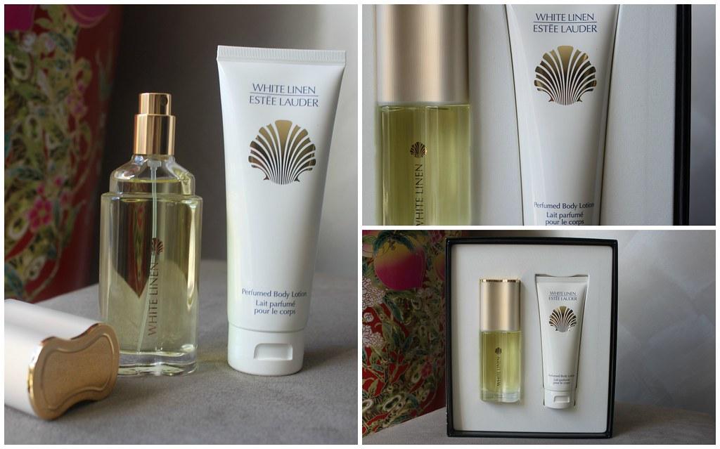 ... Estee Lauder white linen perfume pack gift body lotion myer australian beauty review blog blogger ausbeautyreview