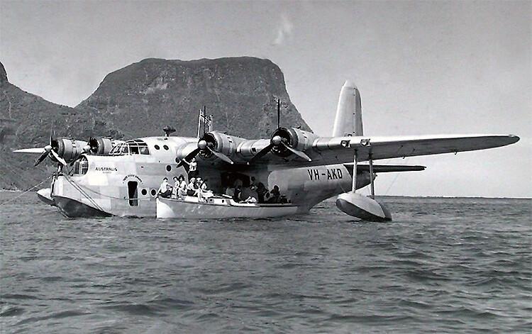 Short Sunderland létající loď Australis'
