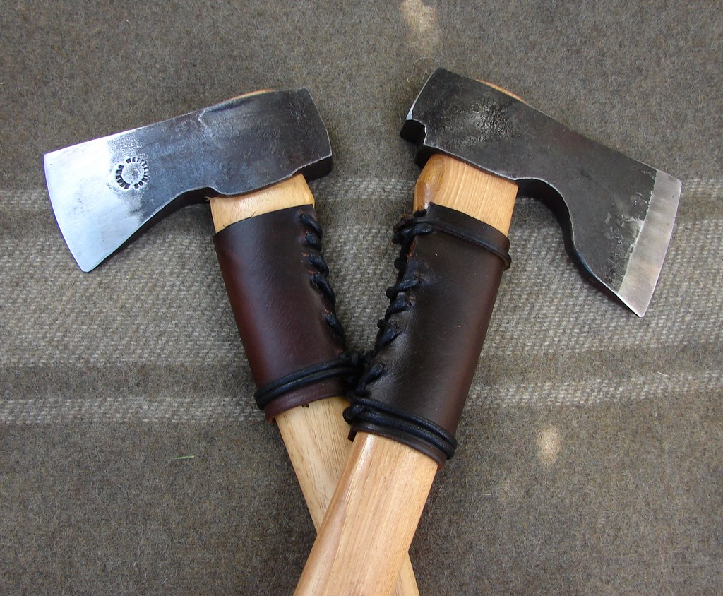 ... Homemade Axe Handle Protectors For My Wetterlings | by montanaman1