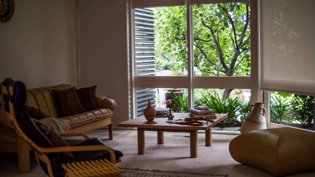 blinds in a Melbourne room
