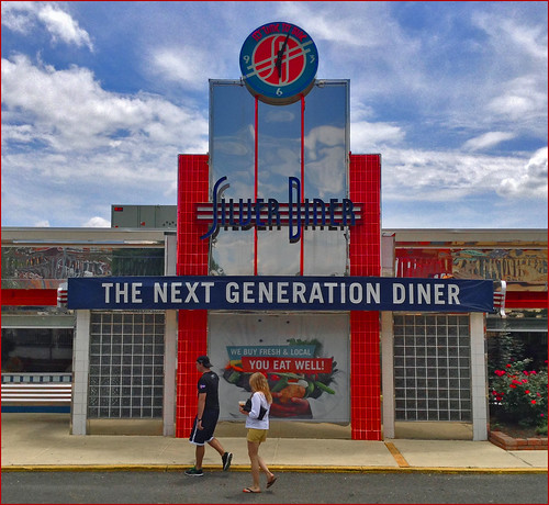 'The Next Generation Diner and Diners' -- Clarendon Arlington (VA) 2014 | by Ron Cogswell