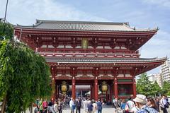 Senso-ji Temple - Hozomon Gate