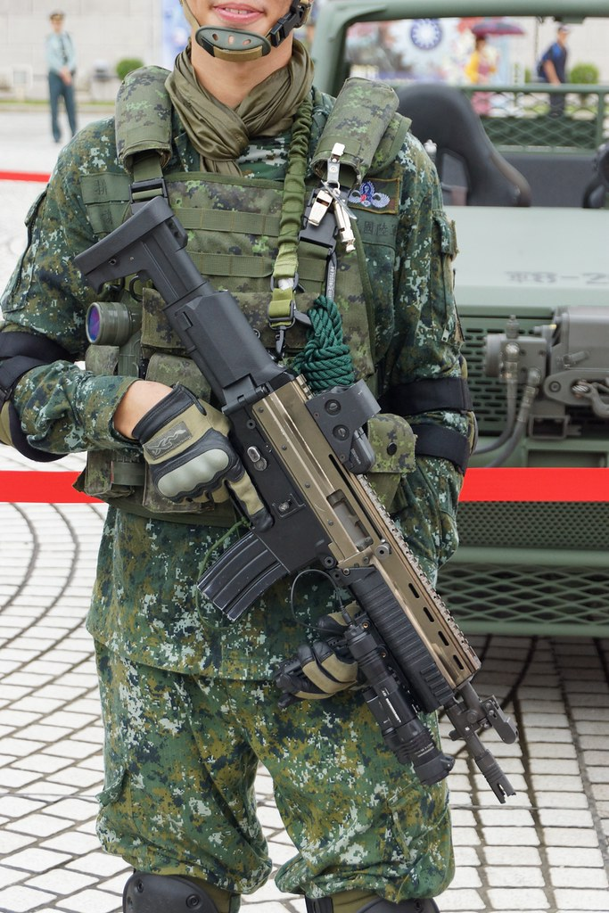 Special Force of Taiwanese Army | this assault rifle is a pr