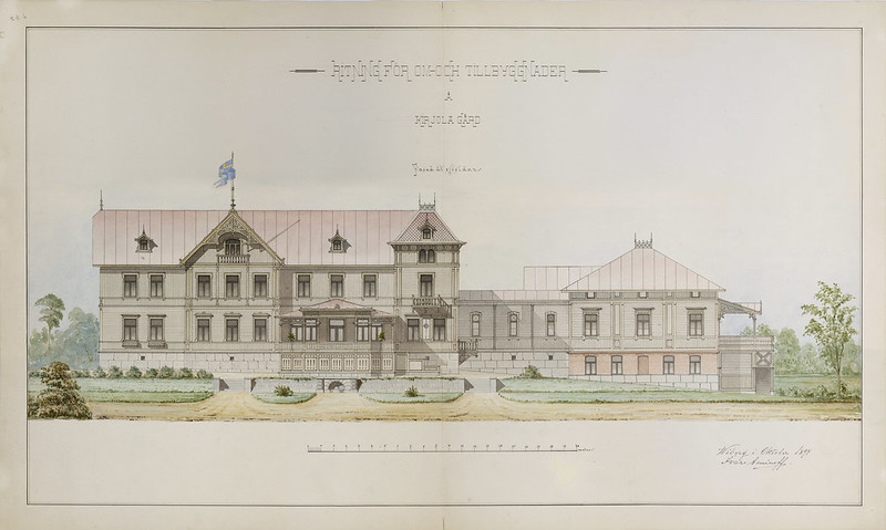 Ivar Aminoff: Kirjola estate. Kirjola gård