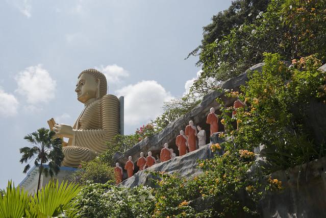 SL114 Dambulla Cave Temple 25 - Sri Lanka