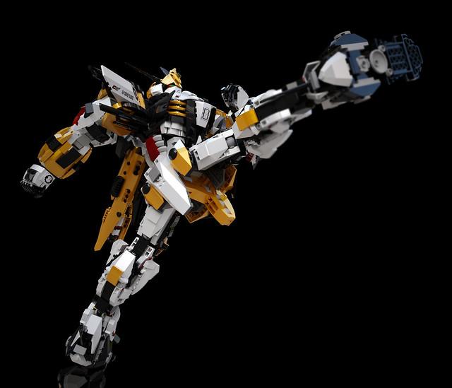 Gundam Chroma S1 Virya (pose_02 GQ2)