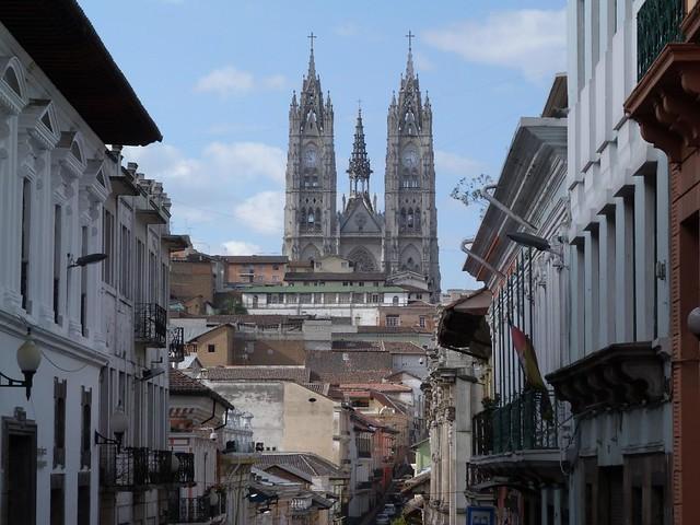 Basílica del Voto en Quito (Ecuador)