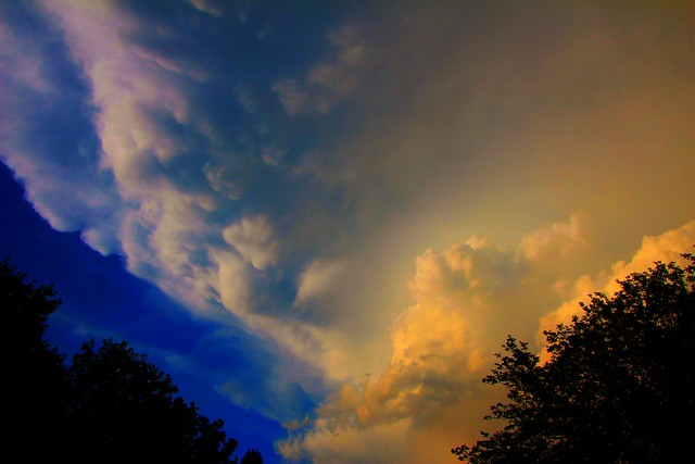 070714 - Late Afternoon Nebraska Thunderstorms