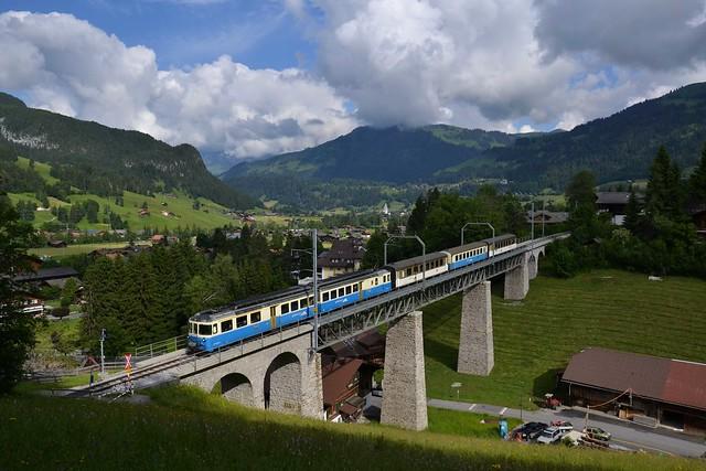 Morgens an der Gstaaderbrücke