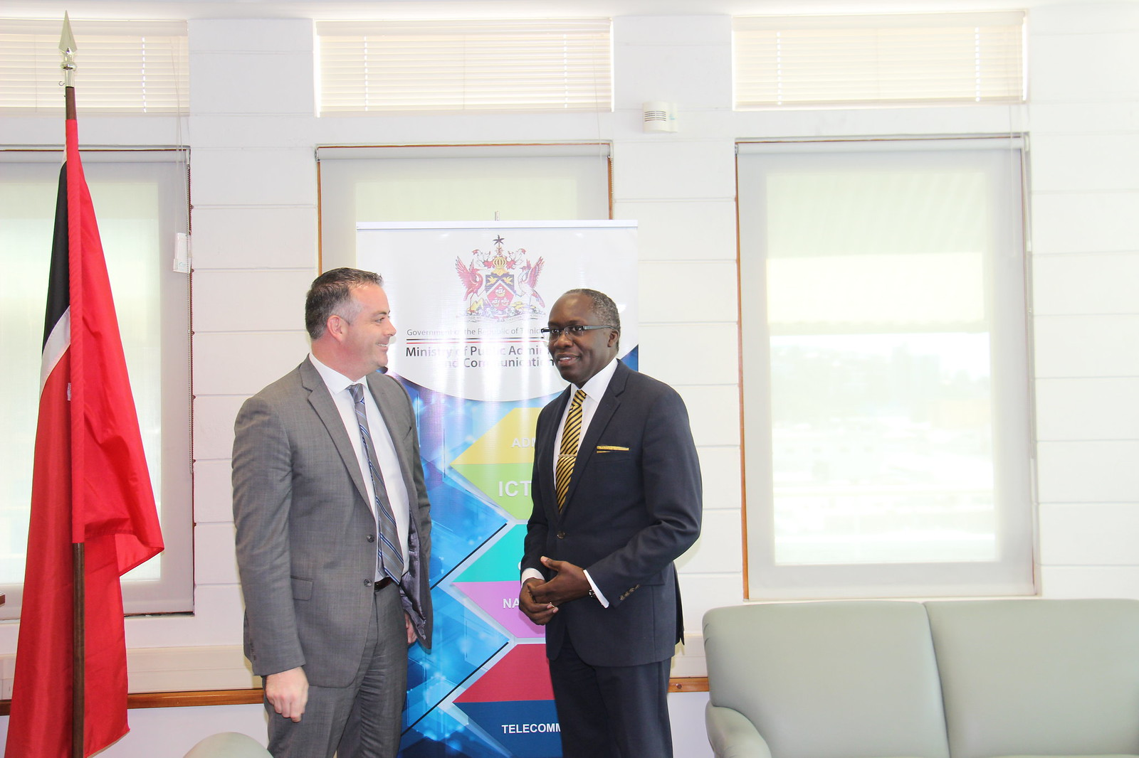 Meeting with Digicel Trinidad and Tobago CEO John Delves