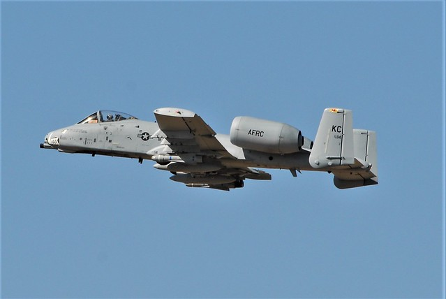 A-10C Thunderbolt-II 79-0114/KC 303rd Fighter Squadron/ 442nd Fighter Wing, Air Force Reserve Command. Seen departing from Davis-Monthan AFB, Arizona. Seen departing after exercise